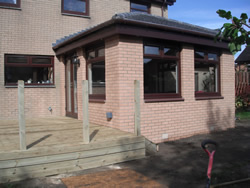 B Smith Contractors Wishaw 2 storey conversion and extension Wishaw